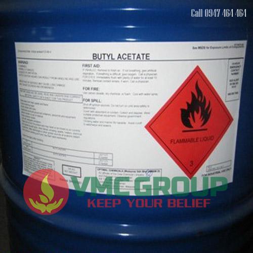 dung moi BUTYL ACETATE (BA) N-Butyl axetat C6H12O2