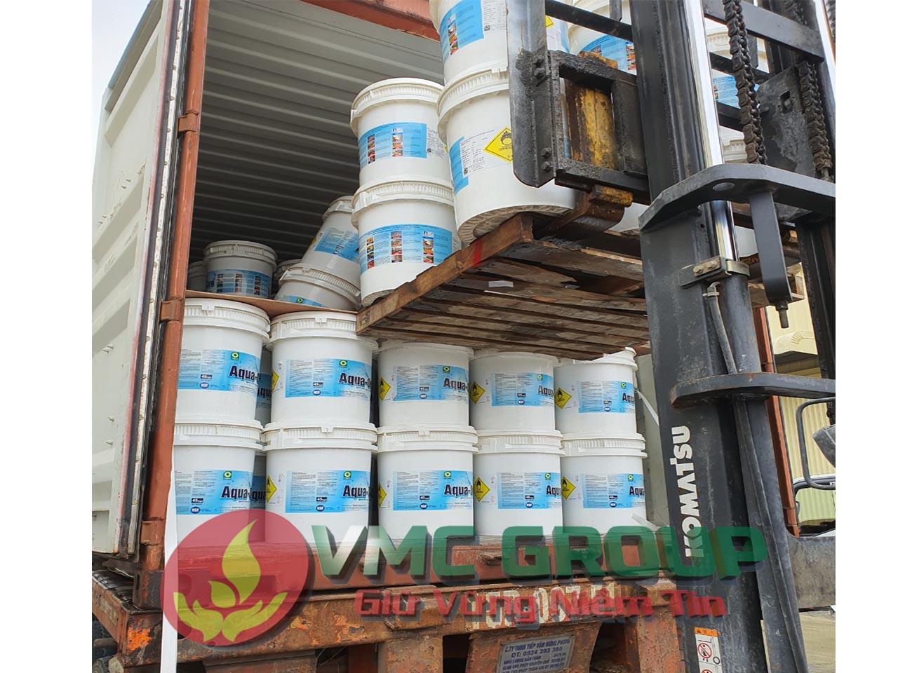 Clorin Ấn Độ Aqua Org thùng 45kg loai tot