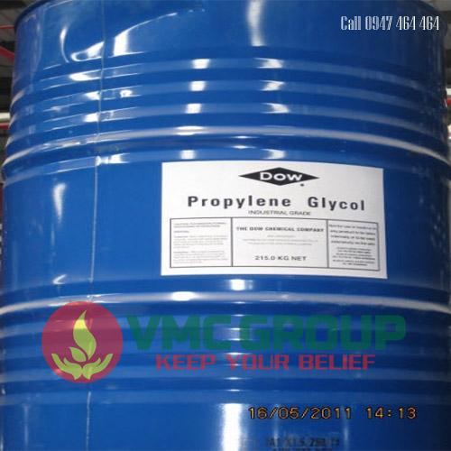 PROPYLENE GLYCOL (PG) C3H8O2 cong nghiep